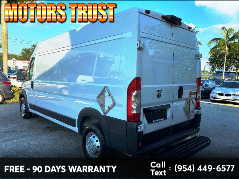 RAM ProMaster Cargo Van 2015 price $14,999