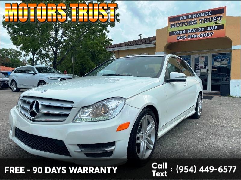 Mercedes-Benz C-Class 2013 price $9,199