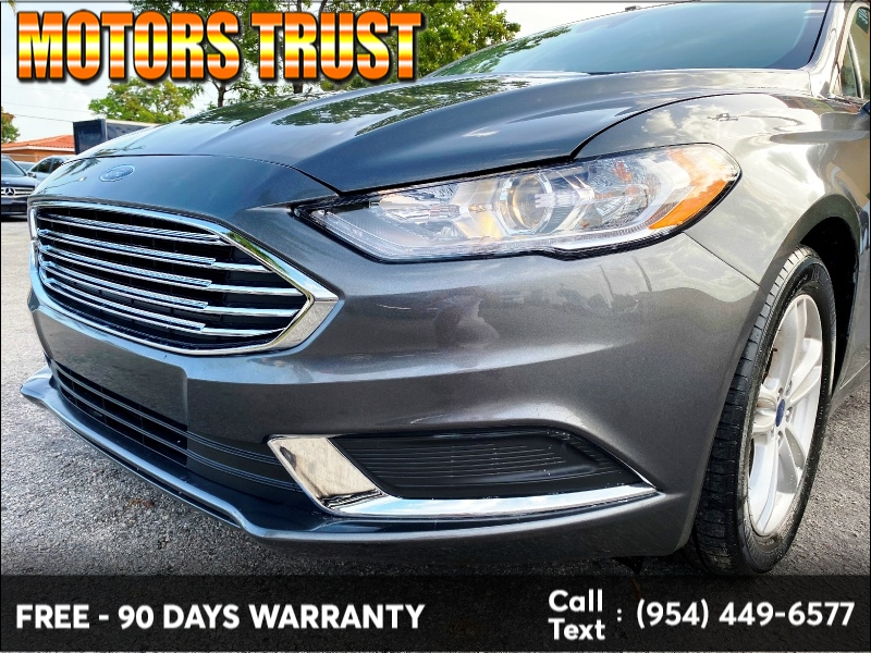 Ford Fusion 2018 price $12,699