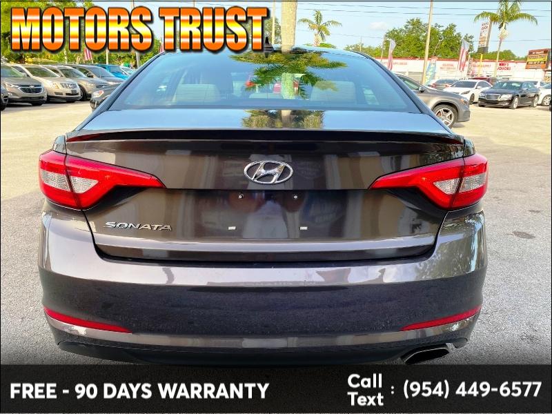 Hyundai Sonata 2017 price $10,499