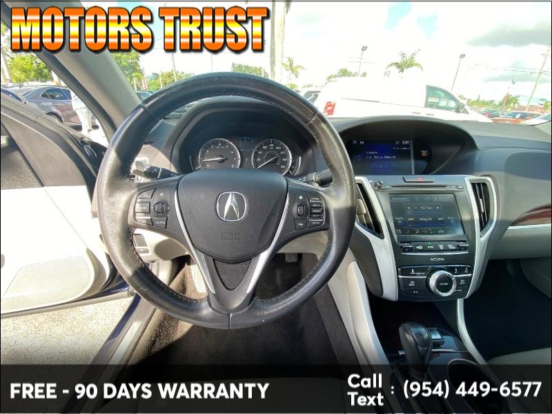 Acura TLX 2017 price $15,299