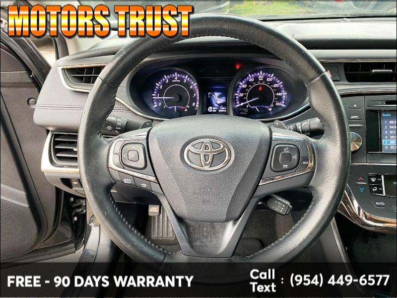 Toyota Avalon 2015 price $12,199