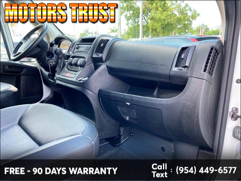 RAM ProMaster Cargo Van 2017 price $18,999