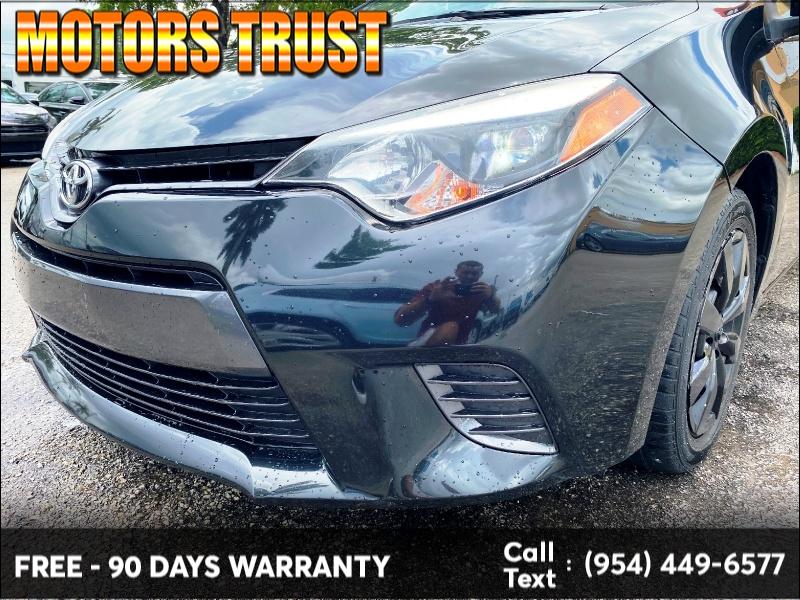 Toyota Corolla 2016 price $7,899