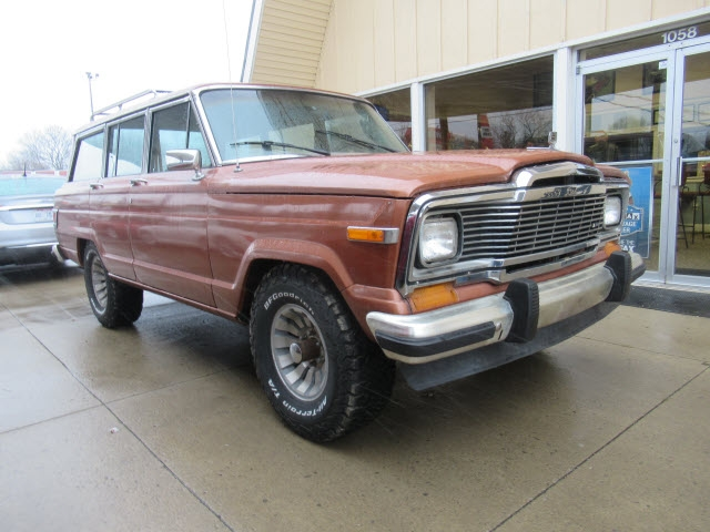 Jeep Wagoneer 1981 price $10,900