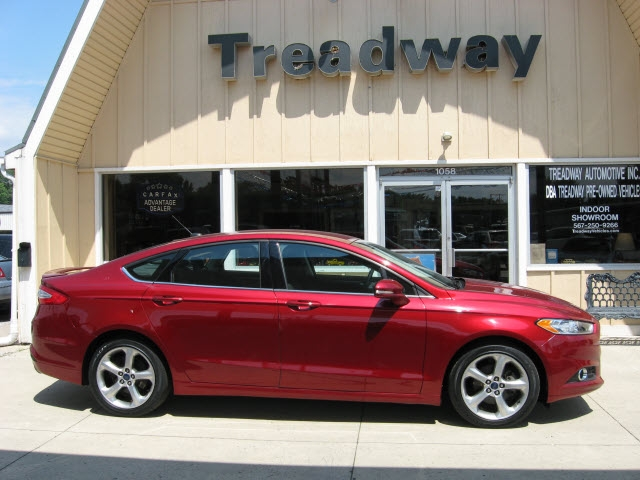 Ford Fusion Ecoboost >> 2016 Ford Fusion Se W Ecoboost