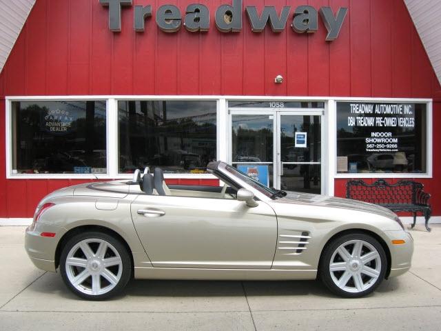 Chrysler Crossfire 2007 price $18,900