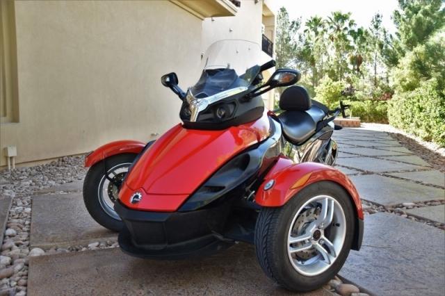 2010 Can Am Spyder SE5