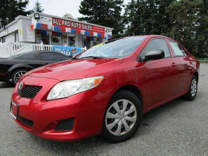 Toyota Corolla 2009 price $6,285