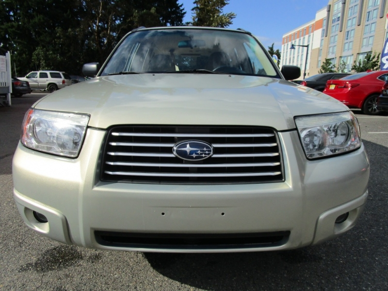 Subaru Forester 2007 price $6,285