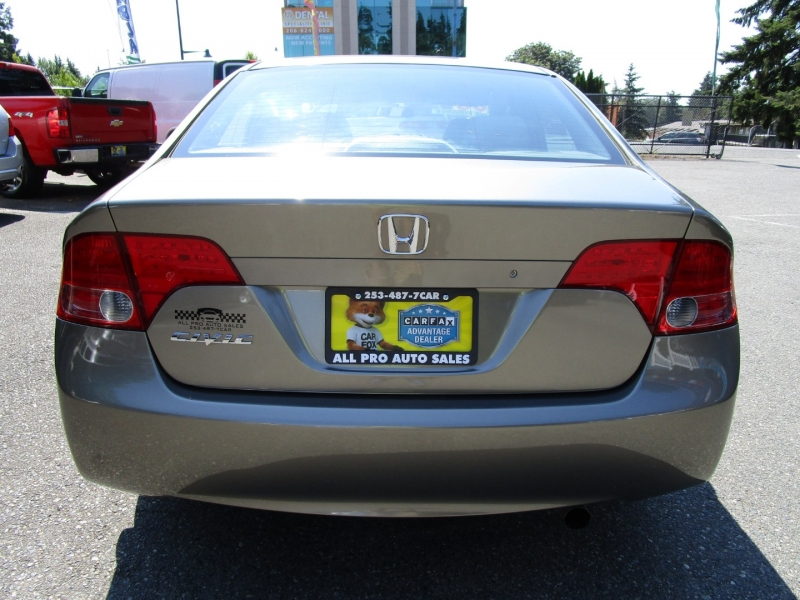 Honda Civic Sdn 2008 price $6,985