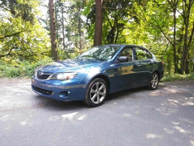 2008 Subaru Impreza Sedan (Natl)