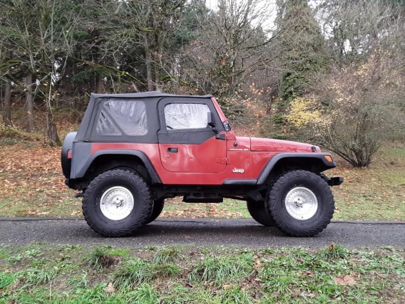 Jeep Wrangler 1998 price $8,995