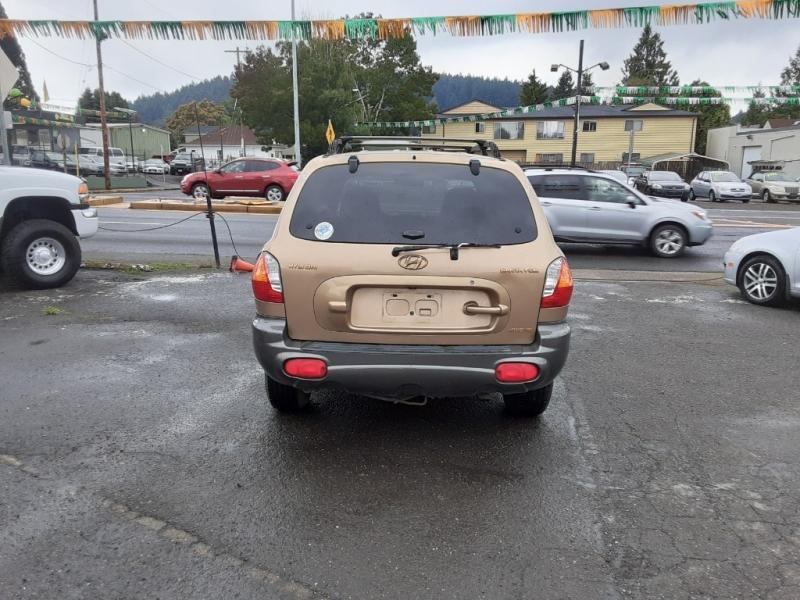 Hyundai Santa Fe 2001 price $1,995