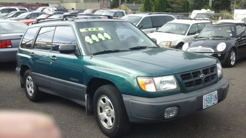 Subaru Forester 1998 price $1,995