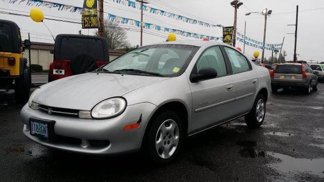 Dodge Neon 2002 price $1,495