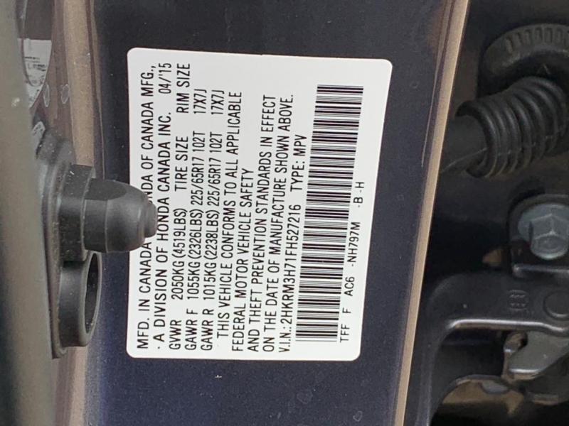Honda CR-V 2015 price $14,977