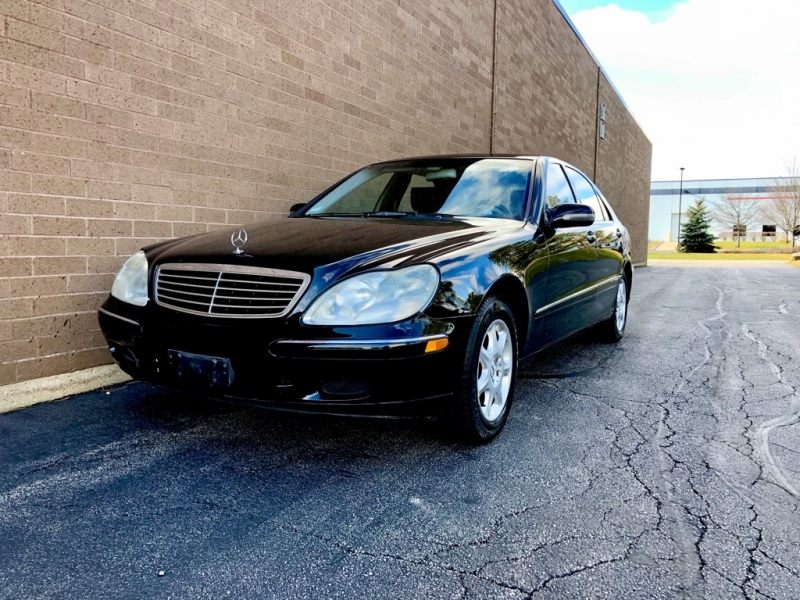 2002 Mercedes Benz S430 Headlights