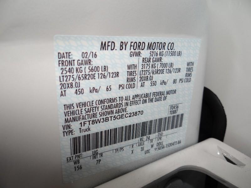 Ford Super Duty F-350 SRW 2016 price $56,900