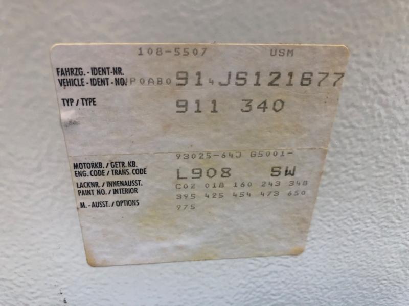 Porsche 911 Carrera 1988 price $54,900