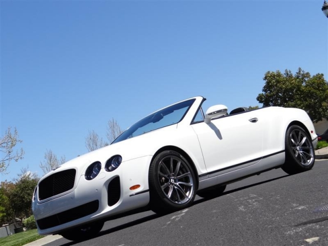 2012 Bentley Continental Supersports Convertible Star