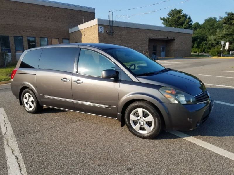 NISSAN QUEST 2007 price $5,400