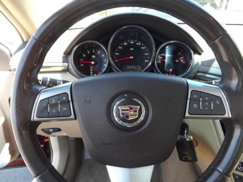 Cadillac CTS Sedan 2010 price $12,250