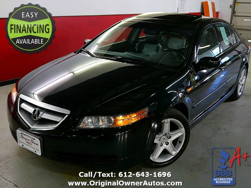 Acura TL NAVIGATION Owner K Miles Black On Black - Acura 2004 tl price