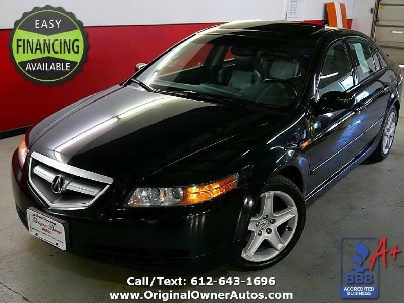 Acura TL NAVIGATION Owner K Miles Black On Black - Acura tl 2004 price