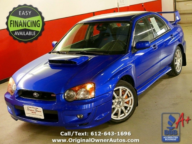 2004 subaru impreza wrx sti 64k original miles 6 speed wrb mint rh originalownerautos com 2004 subaru wrx sti repair manual 2004 subaru wrx sti owner's manual