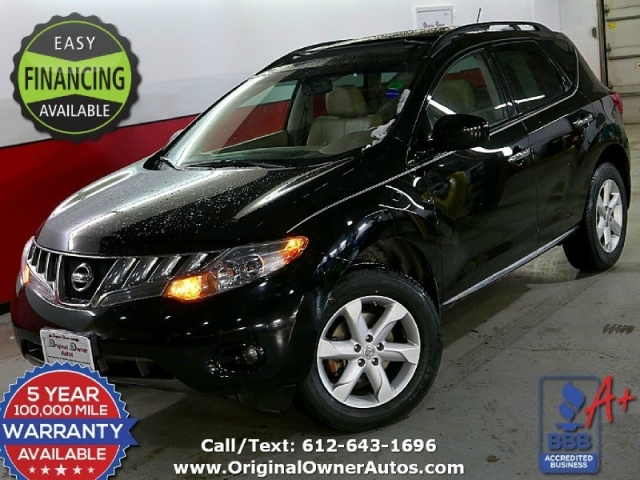 2010 nissan murano sl 92k black super clean awd. Black Bedroom Furniture Sets. Home Design Ideas