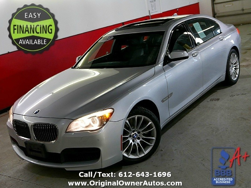 2012 BMW 750Li >> 2012 Bmw 7 Series 4dr Xdrive Lwb Awd