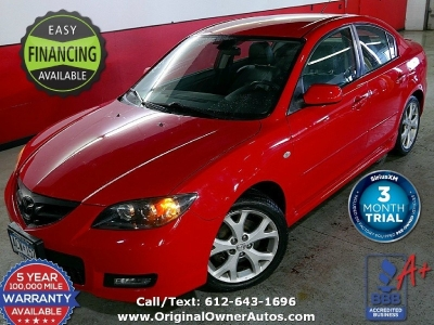 2008 Mazda Mazda3 2.3 Touring leather loaded MINT must see