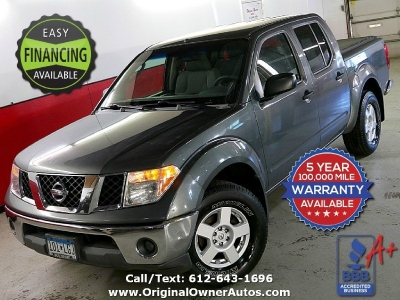 2006 Nissan Frontier SE Crew cab 4x4 6 speed! clean rust free