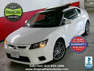 2012 Scion tC 2dr HB 1 owner 82k, Clean! FULL glass roof!
