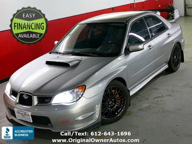 2007 Subaru Impreza Turbo Wrx Sti Awd 63k Miles 6 Speed Inventory