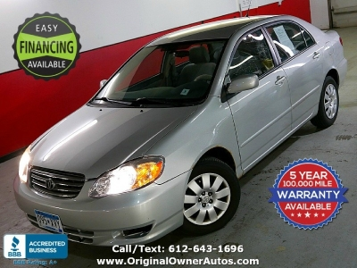 2004 Toyota Corolla Auto 39 MPG only 55k miles! Clean and rust free