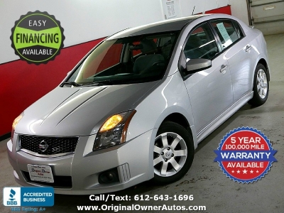2010 Nissan Sentra CVT 2.0 SR clean and sporty! 34 MPG