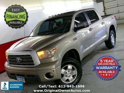 2008 Toyota Tundra CrewMax 5.7L LIMITED Rust free NM truck lthr htd!