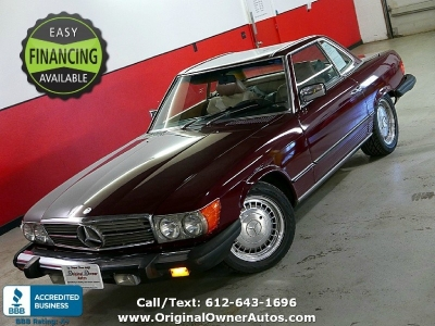 1984 Mercedes-Benz Coupe 380SL convert, 1 owner, Cali car!