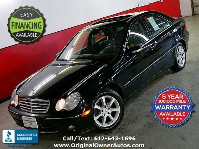 2007 Mercedes-Benz C280 AWD 4MATIC 117k, Black *Avantgarde*