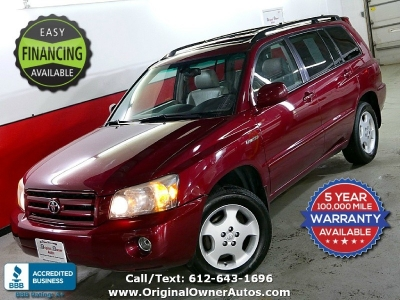2004 Toyota Highlander AWD 4WD w/3rd Row 1 owner