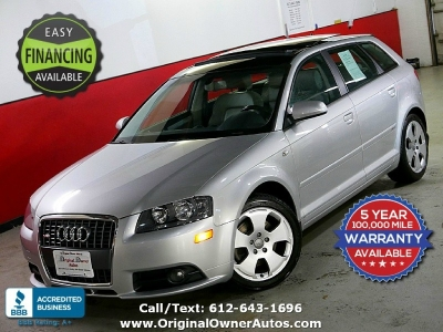 2006 Audi A3 3.2 S-Line quattro AWD Glass roof extra clean!