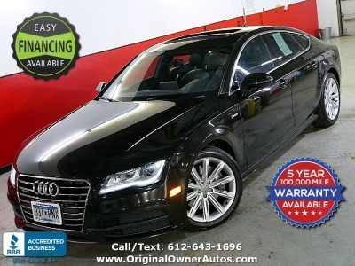2013 Audi A7 quattro 3.0T Prestige AWD hatch BEAUTIFUL & Supercharged