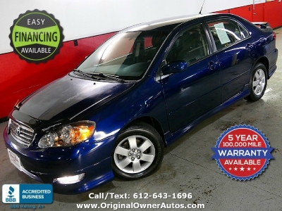 "2006 Toyota Corolla ""S"" Very clean 68k miles"