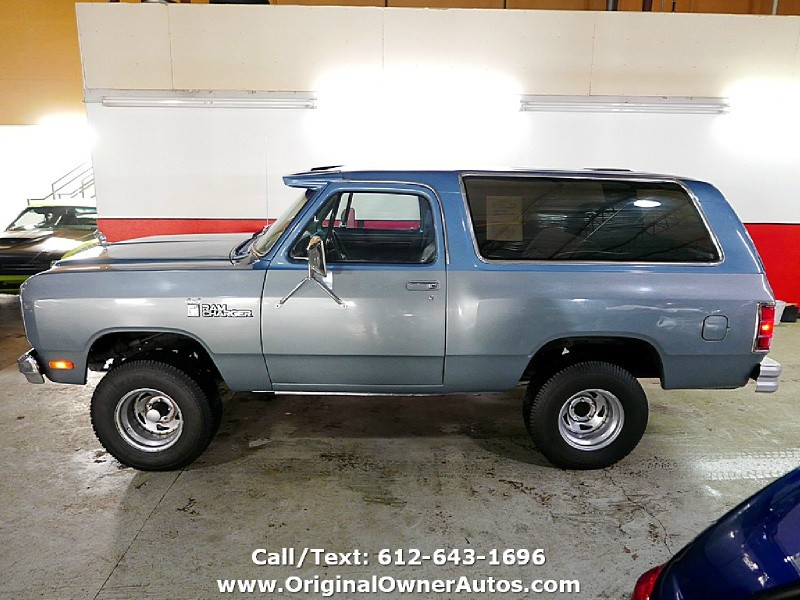 Dodge RAMCHARGER 1985 price $6,495