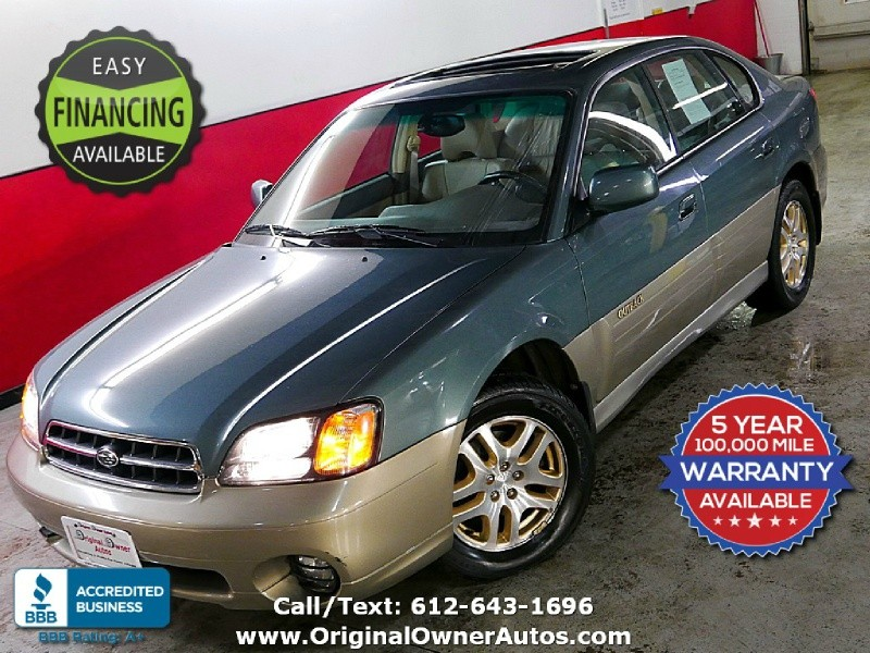 Eden Prairie Ford >> 2002 SUBARU LEGACY OUTBACK LIMITED AWD *Only 74K* Heated ...