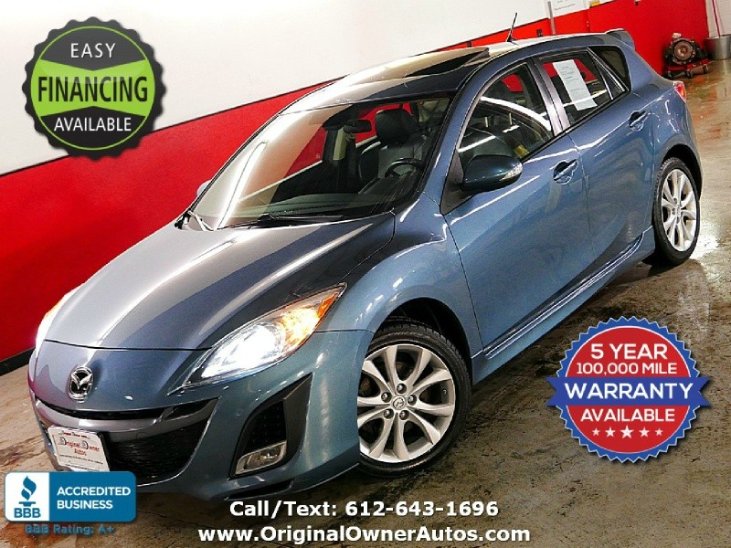 2010 Mazda Grand Touring Sport Loaded Mazda3 S Beautiful Original
