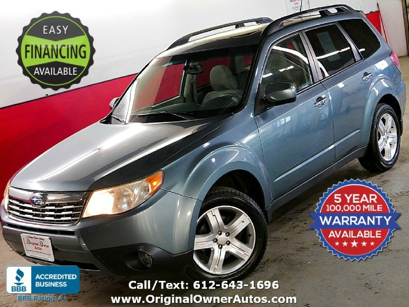 Subaru Forester (Natl) 2009 price $5,995