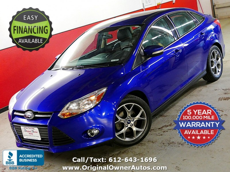 2014 Ford Focus Mpg >> 2014 Ford Focus 4dr Sdn Se